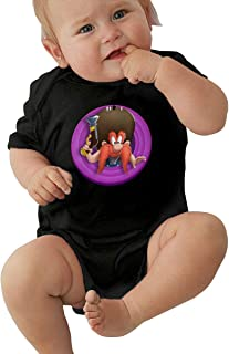 LUCY FOSTER Looney Tunes Yosemite Sam Unisex Funny Toddler Romper Baby GirlOutfits 40 Black