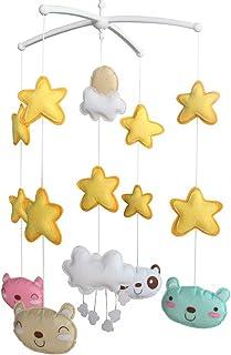 Creative Hanging Toys [Bonheur] Unisexe bébé Musical Crib mobile cadeau