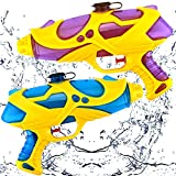 Water Guns for Kids and Adults, 2 Pack Squirt...