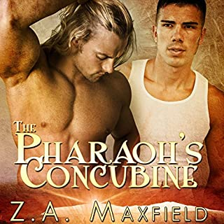 The Pharaoh's Concubine audiobook cover art