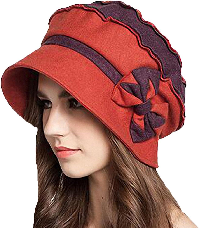 Maitose reg; Women's Decorative Bow Wool Bucket Hat