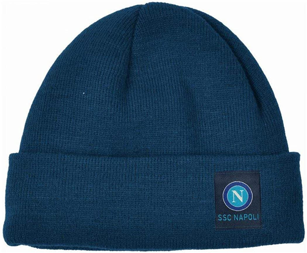 SSC NAPOLI Herren M/ütze Blau blau One Size
