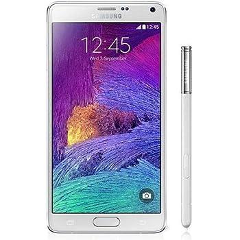 Samsung Note 4 SM-N9100 Dual SIM 16GB Factory Unlocked International Version (No Warranty) - White