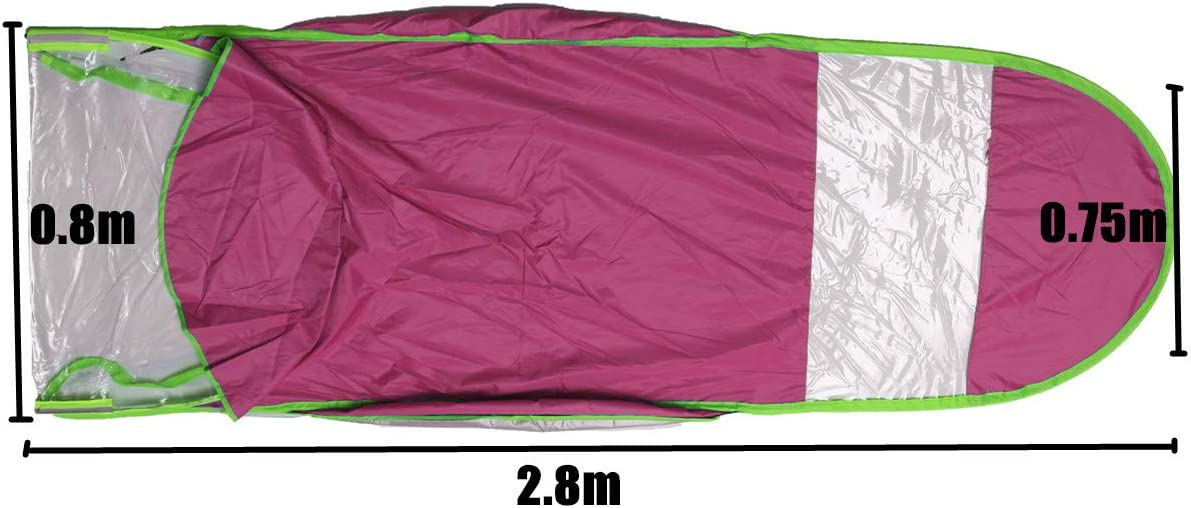 0.8 2.8 Motorcycle Electric Vehicle Sun Shade Umbrella Raincoat Poncho Cover Shelter 0.7M Motorbike Scooter Rain Cover