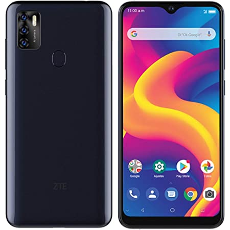 "ZTE Blade A7s 2020 (64GB, 2GB) 6.5"", 16MP Triple Camera, 4000mAh Battery, Fingerprint & Face Unlock, Dual SIM GSM Unlocked US 4G LTE (T-Mobile, AT&T, Metro, Straight Talk) International Model (Black)"