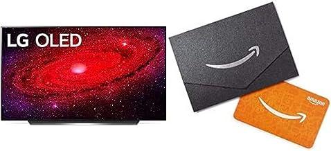 "LG OLED55CXPUB Alexa Built-in CX 55"" 4K Smart OLED TV (2020) with Free $50 Amazon Gift Card"