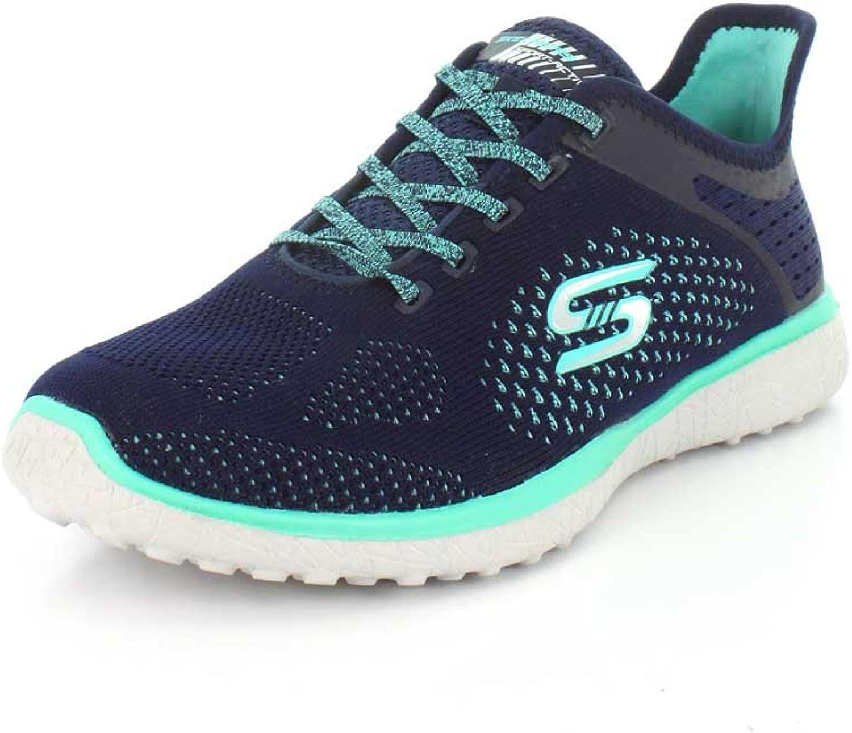 Skechers Womens Microburst Supersonic Fashion Sneaker