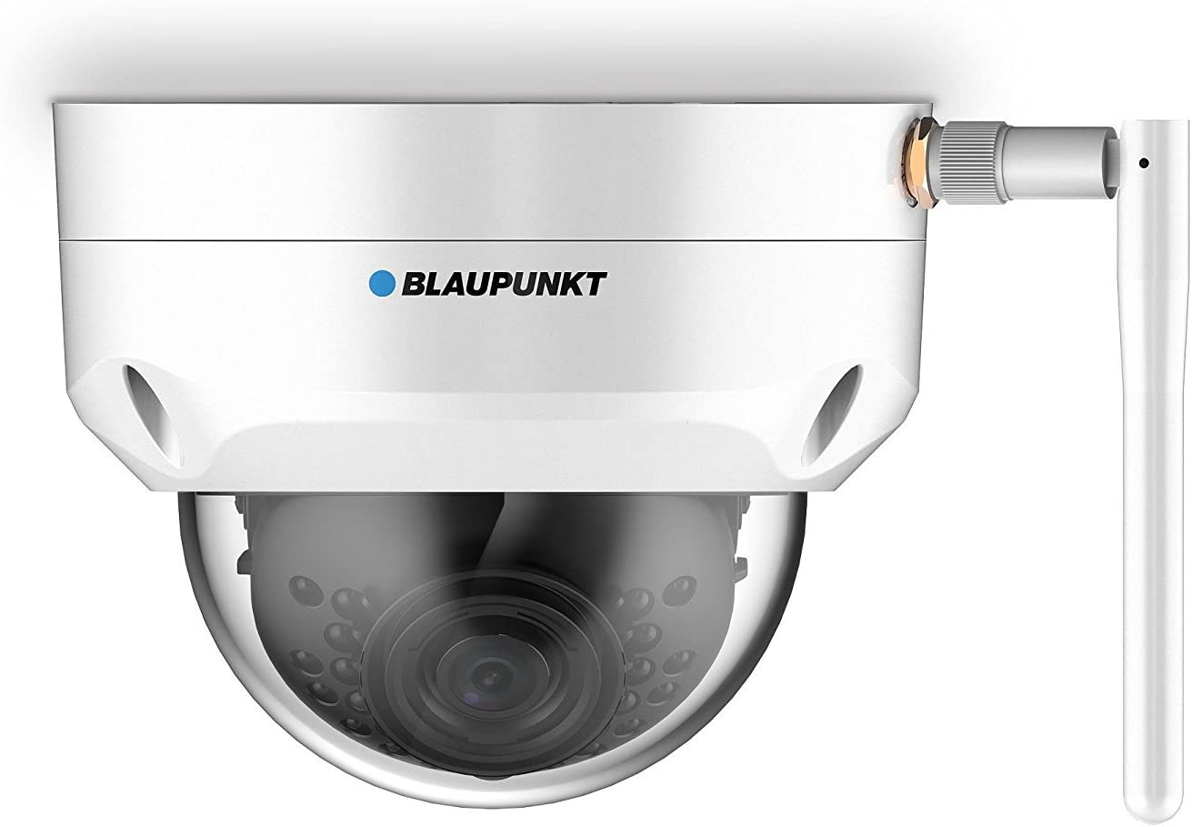Blaupunkt VIO-D30 Cámara de seguridad IP exterior , visión nocturna inteligente, WIFI y compatibilidad ONVIF.