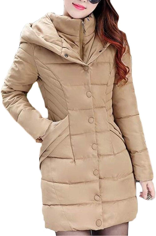 Esast Women's Hooded Light Weight Outdoor Down Jacket