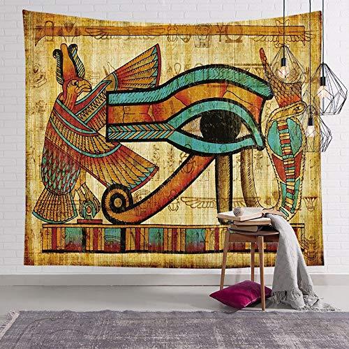 Tapiz del faraón egipcio antiguo pintura famosa colgante de pared pirámide pirámide estera de yoga toalla de playa tapiz egipcio a2 73x95cm