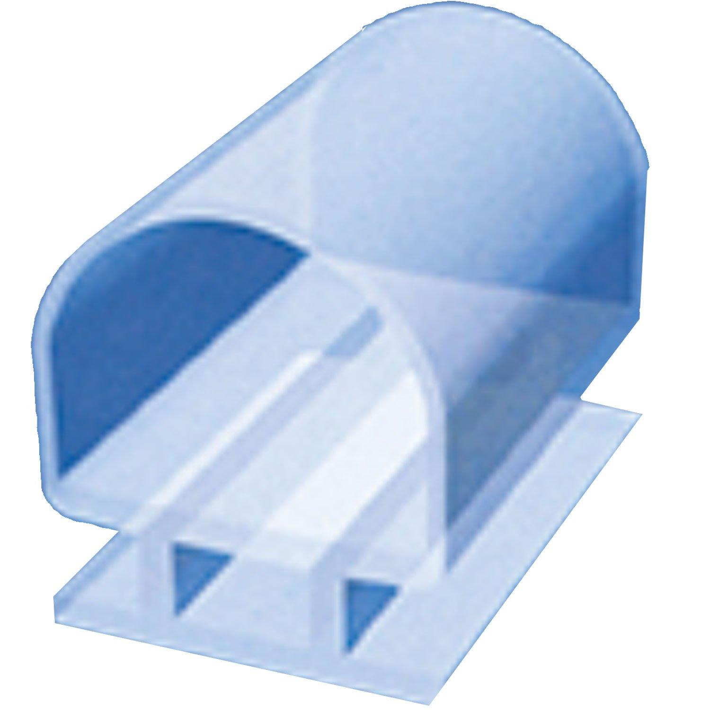 Di Vapor (R) 6 mm Junta de goma para puerta de ducha aluminio canal: Amazon.es: Bricolaje y herramientas