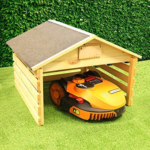 Mähroboter Garage Rasenmäher Roboter Robotormäher passend für Gardena, Worx etc.