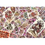 1000ピース ジグソーパズル ディズニーオールスタートランプワールド 【ステンドアート】(51.2x73.7cm)