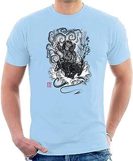 Hunter and The Demon Japan Alien Vs Predator Men's T-Shirt