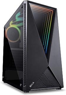 COMPUTADOR GAMER 7000 - I7 9700KF 3.6GHZ 9ª GER. MEM. 16GB DDR4 HD 1TB GTX1650 SUPER 4GB FONTE 750W – SKUL, Preto