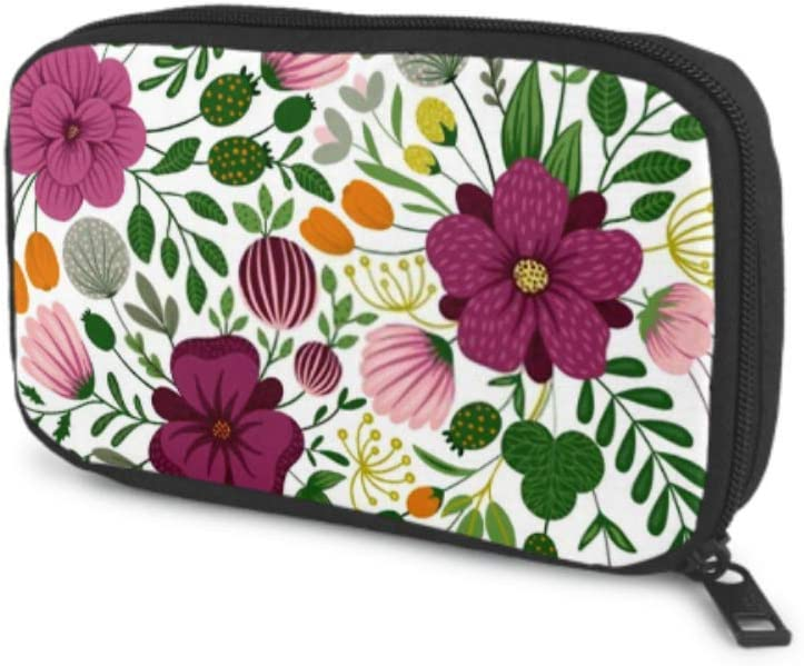 Electronics cheap Accessories Organizer Bag Bac Seamless Floral Limited Special Price Vector