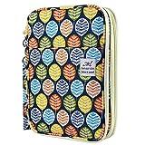 YOUSHARES 192 Slots Colored Pencil Case, Large Capacity Pencil Holder Pen Organizer Bag