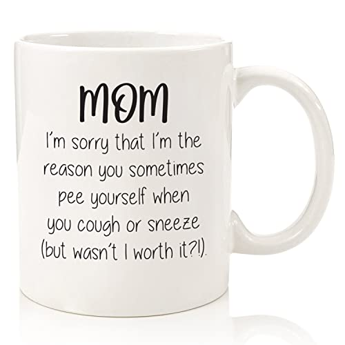 Mom Sorry You P E Yourself Funny Coffee Mug