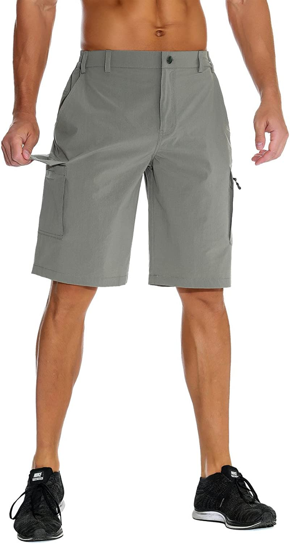 Nonwe Men's Outdoor Waterproof Quick Dry Cargo Shorts