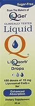 Liquid Q® LiQsorb® Liposomal CoQ10 Drops (Non Flavored, Sugar Free, Non GMO) 30ml