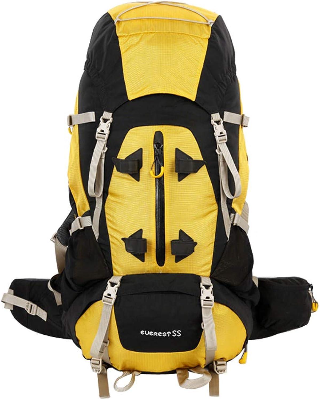 XYW-0006 Outdoor Bergsporttasche Wanderrucksack Tcs Verstellbar Verstellbar Verstellbar Mit Wasserdichten Und Tragbaren Herren Und Damen 55 L - Mit Regenschutz B07LGY674V  Trend 60f41c