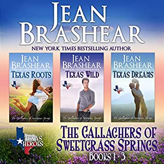 Page de couverture de The Gallaghers of Sweetgrass Springs Boxed Set: Books 1-3
