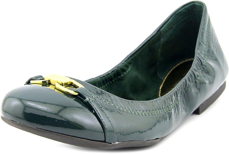 Ralph Lauren Womens Betsy Round Toe Ballet Flats