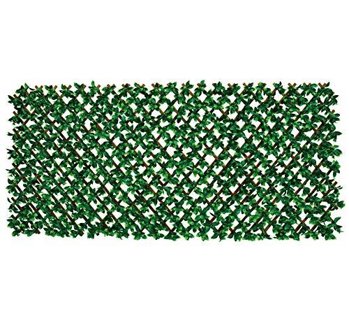 ファインインテリアベランダ伸縮目隠しグリーンフェンス視線カット造花日よけFIN-767