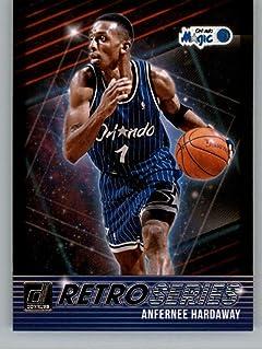 2018-19 Donruss Retro Series Basketball Card #13 Anfernee Hardaway Orlando Magic Official NBA Trading Card Produced By Panini