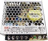 Fuente de alimentacion 72W 12V 6A Mean Well Enclosed LRS-75-12 Power Supply AC/DC