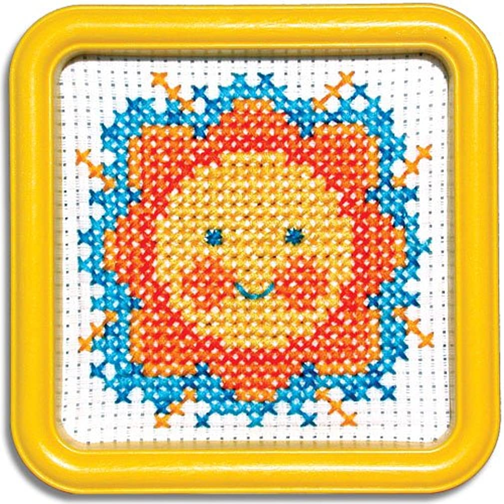 Easystreet Little Folks Sunny Smile Counted Cross-Stitch Kit