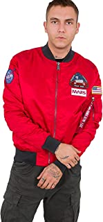 ALPHA INDUSTRIES Men's MA-1 LW Mission to Mars