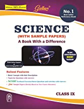 Golden Science: (With Sample Papers) A book with Difference Class- 9 (For 2021 CBSE Final Exams)