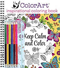 ColorArt: Inspirational Coloring Book with Colored Pencils