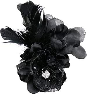 コサージュ 入学式 コサージュ フォーマル 2way ヘッドドレス 卒業式 花 コサージュ結婚式 髪飾り fh19132bk