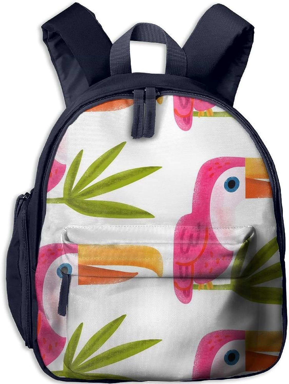 Lightweight Kids School Tropical Toucan(1753) Backpack