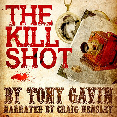 The Kill Shot audiobook cover art