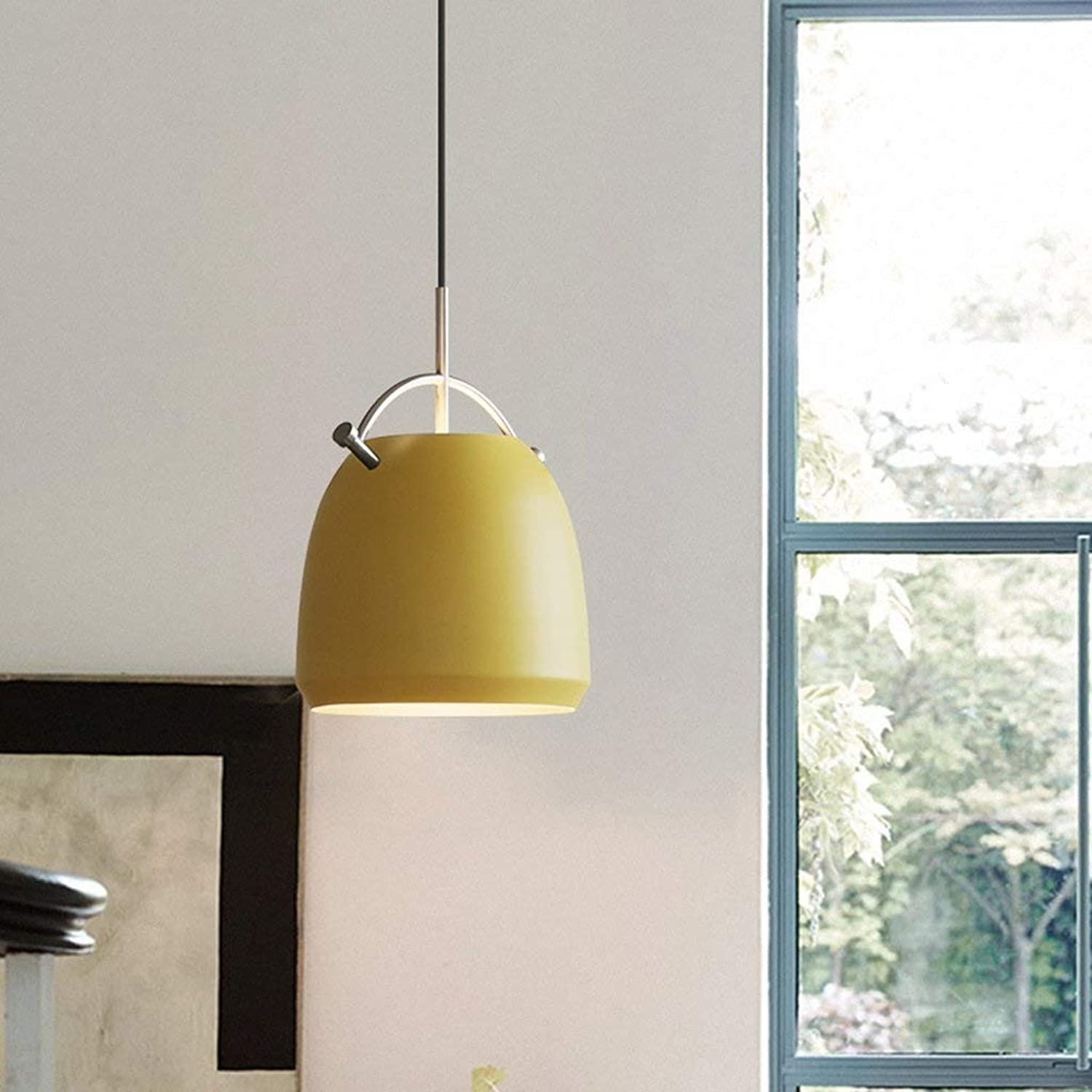WHKHY Irons Chandelier Neutral, Gorgeous Optional, 34  50 cm, Chrome Hook Single Head Chandelier