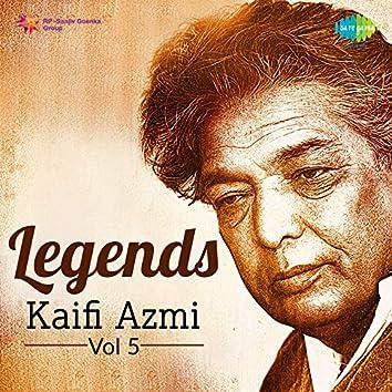 Legends - Kaifi Azmi, Vol. 5