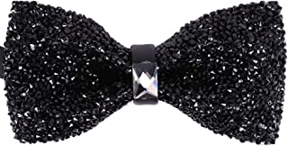 black and white suit bow tie
