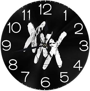 壁掛け 置き時計 XXXTentacion 壁掛け時計 連続秒針 静音 円形 クロック 掛け時計 掛時計 飾る時計 部屋 客室 教室 部屋装飾 贈り物 新築 開業