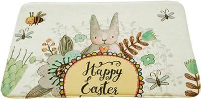 Children Room Door Mat Lonely Rabbit Patten