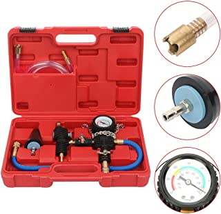 Radiator Pressure Tester Radiator Pressure Test Kit Cooling System Purge and Refill Kit 4pcs
