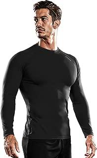 DRSKIN Men's Thermal Wintergear Fleece ColdGear Compression Baselayer Long Sleeve Under Top T Shirts