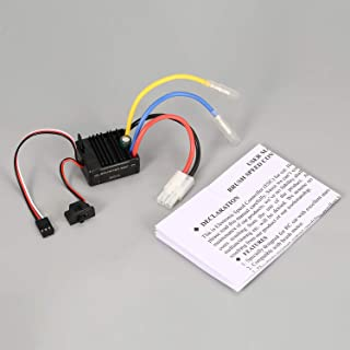 Surpass Hobby Brushed 60A ESC Electric Speed Controller with 5V/2A BEC for Axial SCX10 RC4WD D90 1/10 RC Crawler Climbing Car