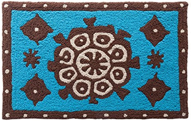 GRENSS Ethnischen Stil Eingang Fußmatte Home Teppiche Anti-Sikd Matten Matten Matten für Schlafzimmer Küche Bad Dekorative Teppiche 50 x 80 cm Matten, C, 500 mm x 800 mm B077VRWP73 ea3f14