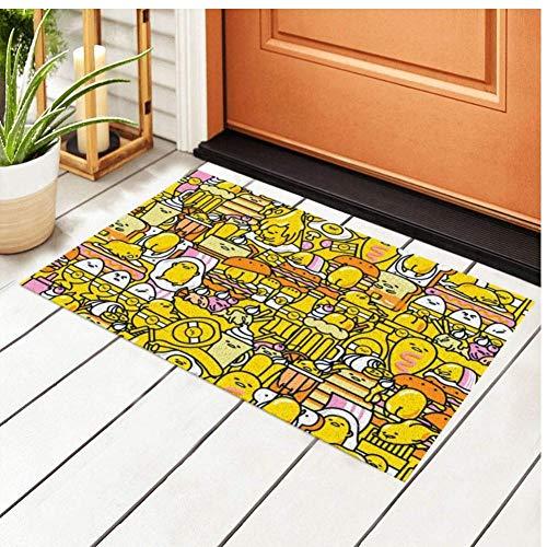 Alfombra de Puerta de Dibujos Animados Alfombra al Aire Libre Alfombrilla de PVC Antideslizante Alfombrillas de Exterior Interiores y Exteriores Los 60x90cm