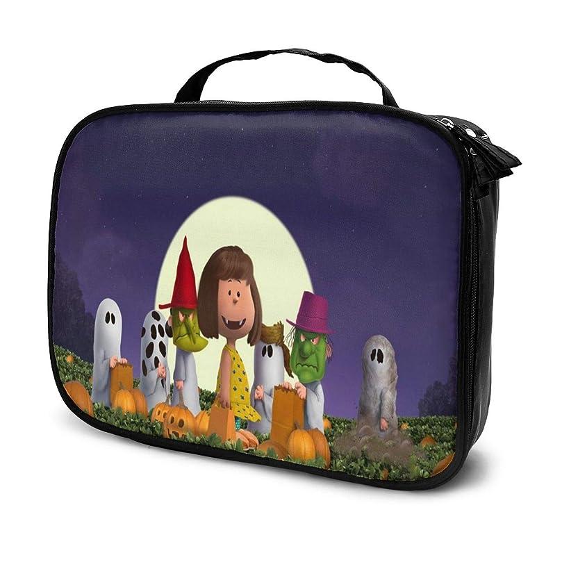 通り王族通りDaituスヌーピー 化粧品袋の女性旅行バッグ収納大容量防水アクセサリー旅行
