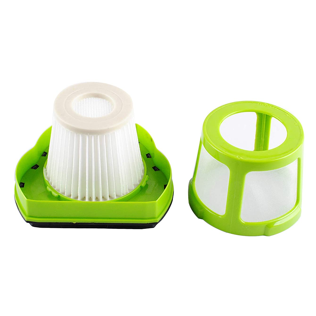 Poweka 1608653 Pet Hair Eraser Handheld Vacuum Filter for Bissell, and 1608654 Mesh Frame Pet Hair Eraser Cordless Handheld Vacuum Filter Replace 1782 17823 Filter