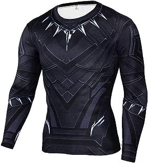 Men's Dri Fit Winter Soldier Compression Shirt Long Sleeve Workouts Gym Shirt